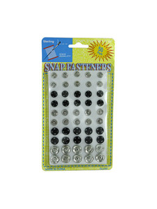50 Pack snap fasteners