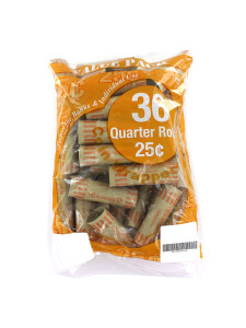 36 Pack quarter coin wrappers