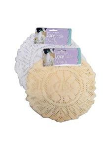 Round lace doily (set of 3)