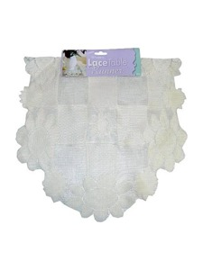 Pretty lace table runner
