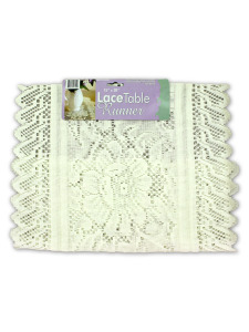 15x30 inch lace table runner