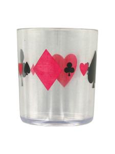 Vegas card design tumbler