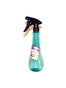 Long neck plastic spray bottle