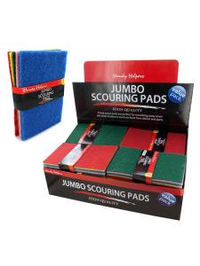 5 Pack jumbo scouring pads