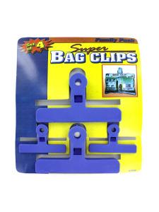 Plastic bag clips (set of 4)