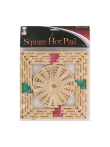 Square hot pad