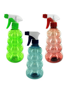 Tornado-shaped spray bottle
