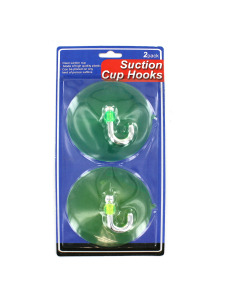 2 Pack suction cup hooks