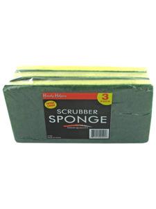 9 x 4.25 Scrubber sponge 3 pk.