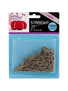 1000 Pack straight pins