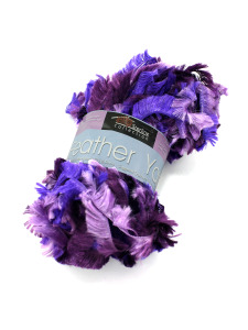 Feather yarn (assorted colors)