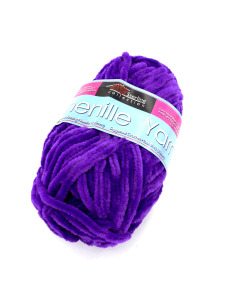 Chenille yarn (assorted colors)