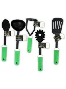 5 Piece assorted modern kitchen tools