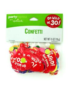 monkey around 30 confetti