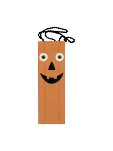 pumpkin tall treat gift bag