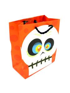 small skull gift bag