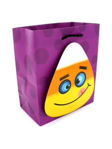 small candy corn gift bag