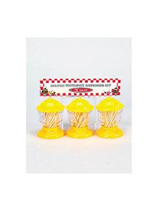 Deluxe toothpick dispenser set (set of 3)