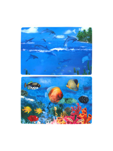 Dolphin plastic placemat