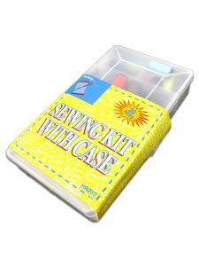 20 Pack sewing kit with case