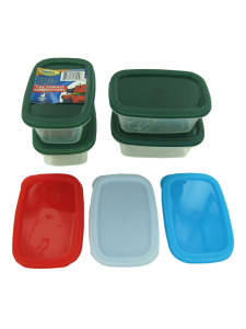 Rectangle storage containers (set of 4)