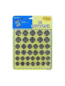 36 Pack fashion buttons