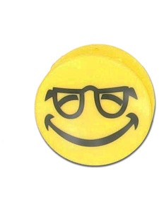 smiley face magnetic clip 3 assorted