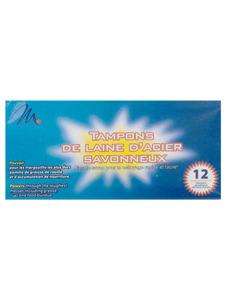 12 pack steel wool soap pads