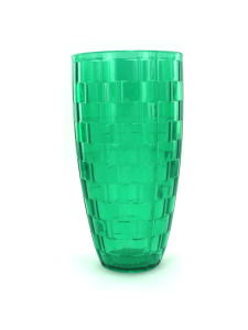 Hard plastic tumbler, purple