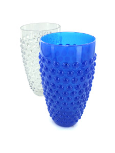 Tumbler cup with bubble dots (assorted colors)