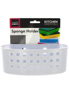 Sponge holder with suction cups