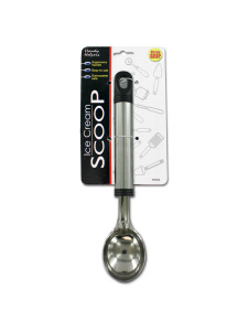 Ergonomic ice cream scoop