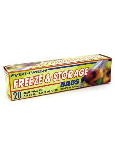 20 Pack freezer & storage bags