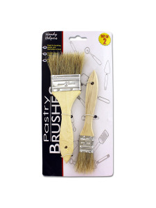 2 Pack pastry brushes