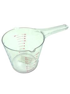 Double spout measuring cup