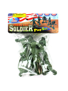 5 piece jumbo army soldier