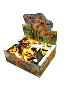 wild animals 12 assorted (assortment may vary)