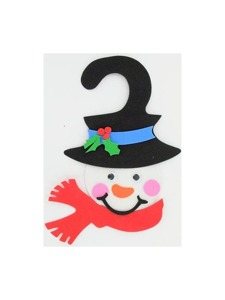 snowman craft kit 12p