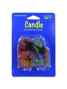 top secret candle