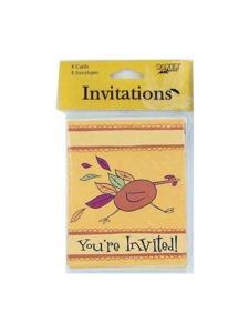 invites 8 pk turkeytime