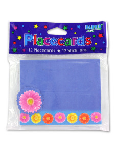 12 pack stick on gerber daisy placecards