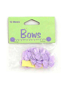 12 periwinkle bows 991