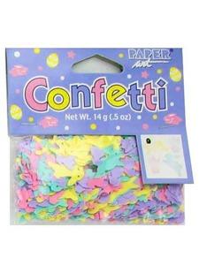 confetti pastel bunny