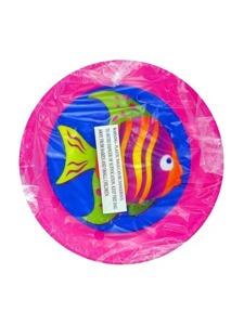 6.5 inch luau tray