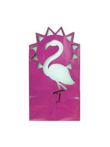 flamingo cutout bag