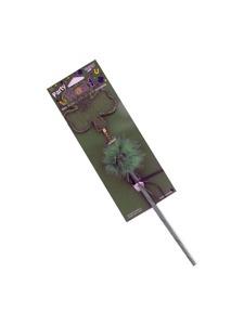 shamrock party wand with marabou trim