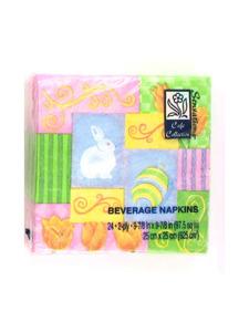 easter beverage napkins- 24 in a pack