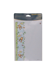 gift from above imprintable stationery 8 sheets/envelopes