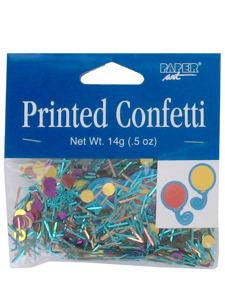 happy retirement confetti .5 ounce bag