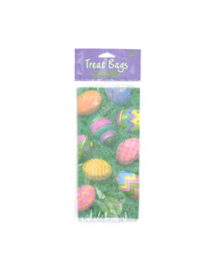 easter egg hunt 20 count cello bags 4 x 9 inch